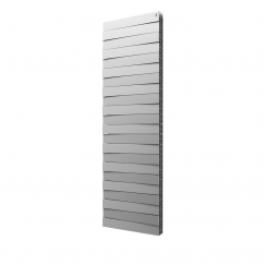 Биметаллический радиатор Royal Thermo Piano Forte TOWER 500 Silver Satin (18 секций)