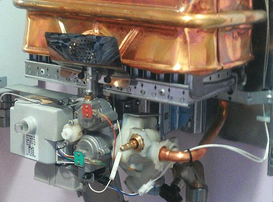 Техобслуживание газовой колонки бош